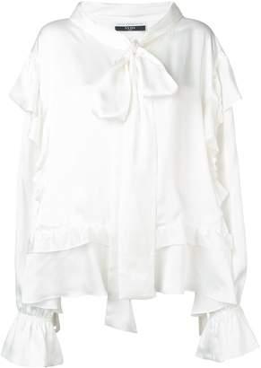 Faith Connexion oversized ruffled blouse