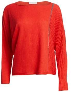 Fabiana Filippi Dolman Cashmere-Blend Sweater