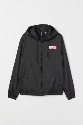 H&M Printed Jacket - Black