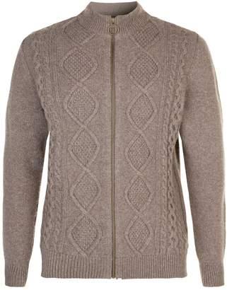 Barbour Sutherland Zip Front Sweater