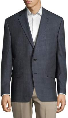 Ralph Lauren Men's Checkered-Print Sportcoat