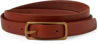 Billykirk Skinny Leather Belt