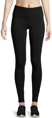 Andrew Marc Ribbed Waistband Leggings