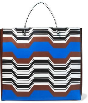 Missoni Printed Leather Tote