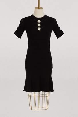 Kenzo Short dress with ruffles