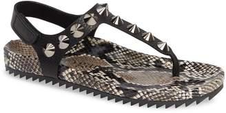 Pedro Garcia Athena Spike Thong Sandal
