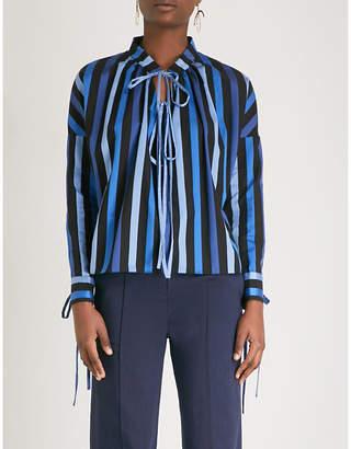 Osman Jacky striped cotton top