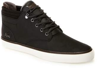 Lacoste Mens Esparre Winter High-top Leather Trainers