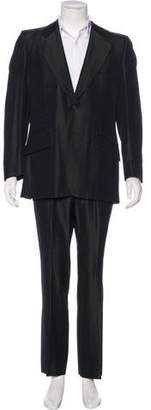 Gucci Iridescent Wool Two-Piece Suit