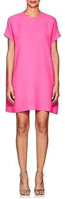 Lisa Perry Women's Silk Crepe Flyaway Dress - Pink