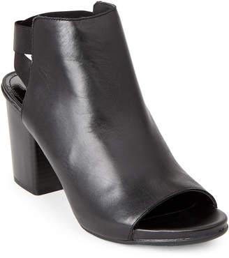 Kenneth Cole Reaction Black Fridah Fly Open Toe Booties