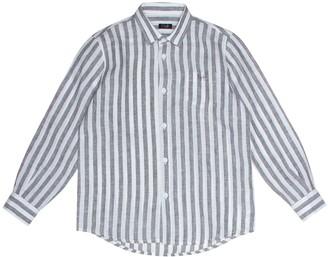 Il Gufo Striped linen shirt