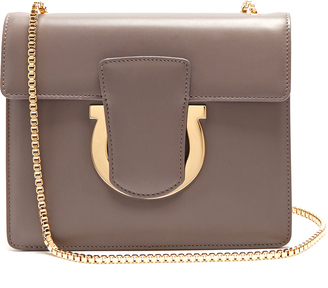 SALVATORE FERRAGAMO Thalia leather shoulder bag $791 thestylecure.com