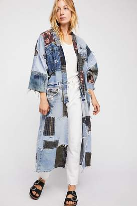 Of A Kind Magnolia Pearl One Denim Kimono