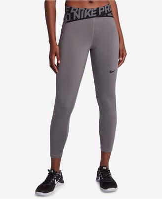 Nike Pro Crossover Waistband Ankle Leggings
