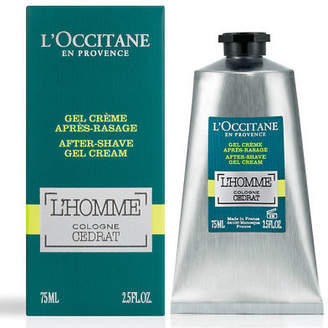 L'Occitane NEW L'Homme Cedrat Gel Cream After Shave 75ml