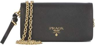 Prada Gold Lettering With Document Holder Inside