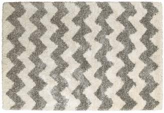 Stylehaven StyleHaven Hillcrest Chevron Stripes Shag Rug