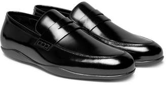 Harry's of London Downing 2 Polished-Leather Penny Loafers