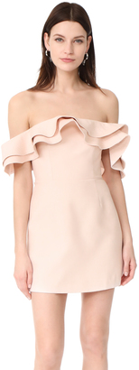 C/Meo Collective First Impression Mini Dress $205 thestylecure.com