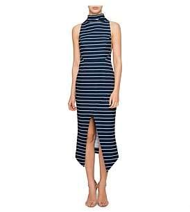 Shona Joy Ria High Neck Midi Dress