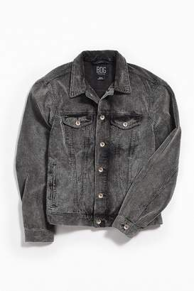 Urban Outfitters Washed Corduroy Trucker Jacket
