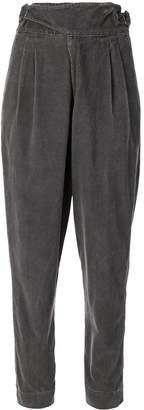 Bassike vintage tab detail cord trousers