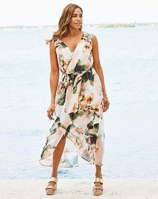 Anita Joanna Hope Print Wrap Maxi Dress