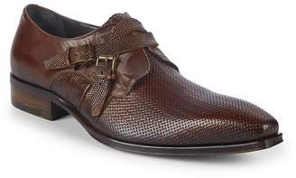 Jo Ghost Men's Buckled Leather Loafers