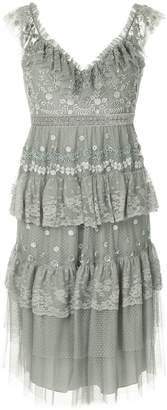 Needle & Thread sleeveless tiered dress