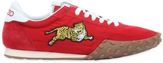 Kenzo K-Run Nylon & Suede Running Sneakers