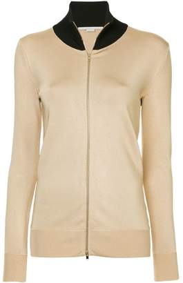 Stella McCartney zipped fitted jacket
