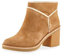 Kasen Soft Suede Ankle Booties