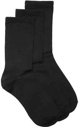 Kelly & Katie Solid Crew Socks - 3 Pack - Women's