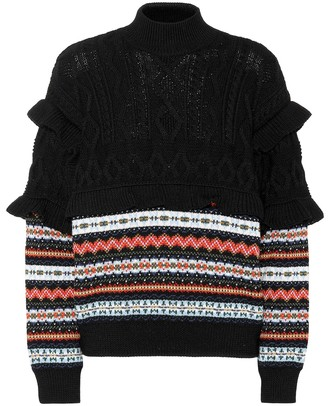 Philosophy di Lorenzo Serafini Striped virgin wool sweater