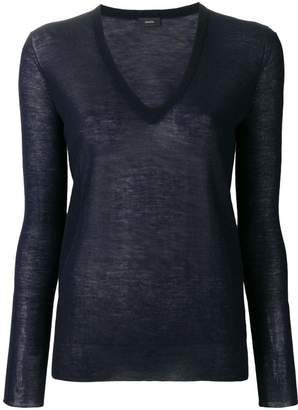 Joseph v-neck lightweight jumper