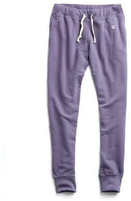 Todd Snyder + Champion Slim Jogger Sweatpant in Lavender