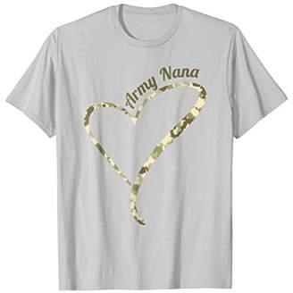 Proud Army Nana T-Shirt- Army Nana Camouflage Shirt
