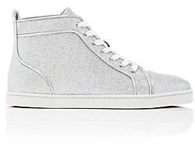 Christian Louboutin Women's Bip Bip Woman Orlato Flat Sneakers-Silver