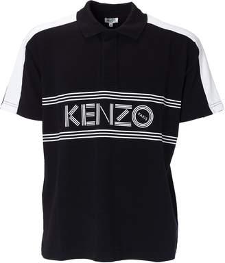 Kenzo Front Logo Polo Shirt