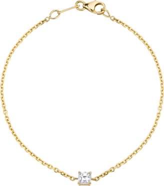 Anita Ko Asscher Diamond Chain Bracelet