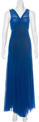 Fuzzi Mesh Maxi Dress