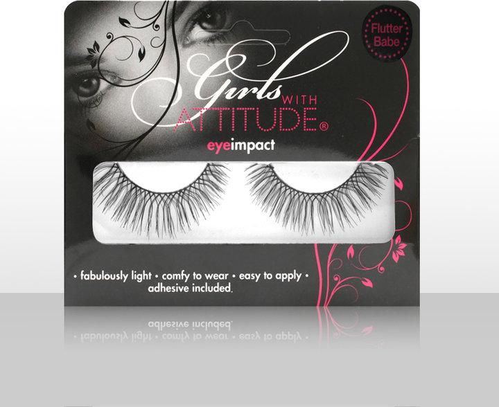 Clear Girls With Attitude Eye Impact False Lashes