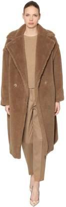 Max Mara Teddy Camel & Silk Coat