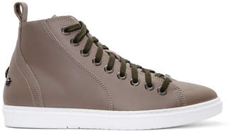 Jimmy chooLeather Colt High-Top Sneakers