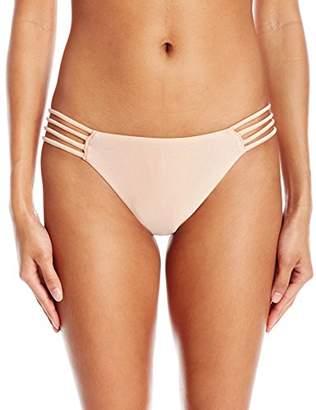 cf7c59b6575 O'Neill Women's Lux Solids Multi Strap Bikini Bottom