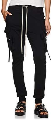 Rick Owens Women's Cotton Cargo Leggings - Black