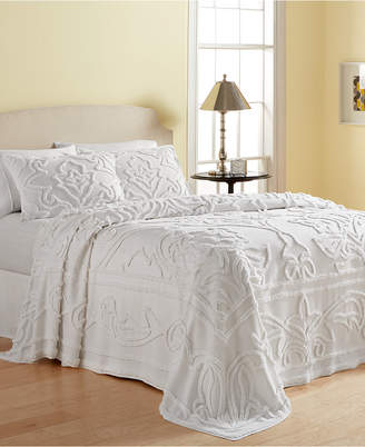 Martha Stewart Collection Wooster 100% Cotton Tufted-Chenille Full Bedspread, Created for Macy's