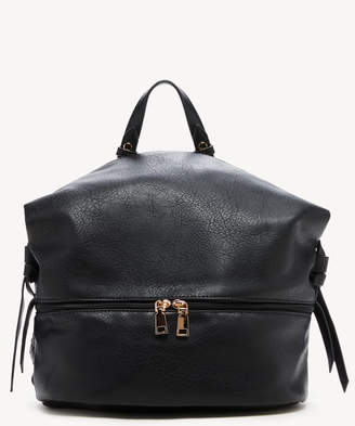 Sole Society Women's Cyndi Backpack Vegan Leather Shoulder Black One Size From