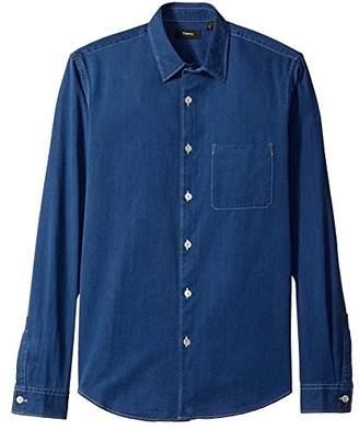 Theory Men's Rammy Curt Button Down Shirt